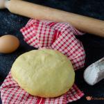 pasta frolla salata al formaggio senza burro