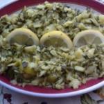 Pasticcio di zucchine al limone (bimby)