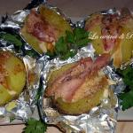 Patate gratinate ripiene /au gratin stuffed potatoes