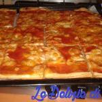 Pizza di pasta sfoglia