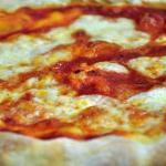 Pizza tonda con biga