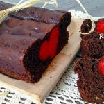 Plum cake di San Valentino, un cuore a sorpresa