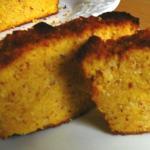 Plumcake dolce alla polenta