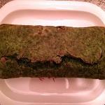 plumcake rustico spinaci e speck