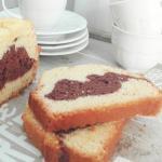 Plumcake variegato al cioccolato