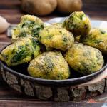 Polpette di patate spinaci e feta