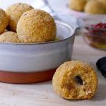 polpette di ricotta e pomodori secchi (bimby)