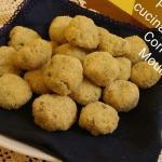 Polpette di tacchino e zucchine con il CuCo (no uova)