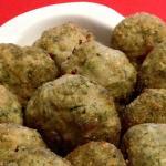 Polpette di tacchino ,spinaci e prosciutto cotte al forno (Senza uova)