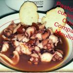 Polpo alla luciana con il Cuisine Companion Moulinex
