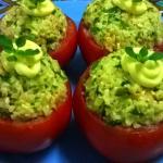 pomodori farciti al riso verde