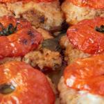 Pomodori in forno con cous cous