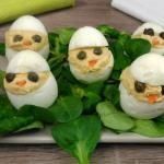 pulcini pasquali- antipasto di uova sode