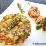 Quiche di gamberi e asparagi gluten free