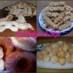 Raccolta dolci di carnevale