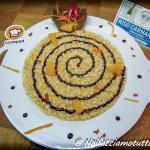 risotto arancia, zenzero e cioccolato fondente piccante