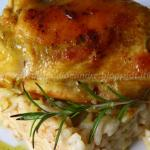 Risotto con pollo al curry e curcuma