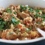 risotto saporito alle salsicce