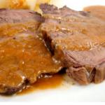 Roast beef alla genovese (Napoletana)