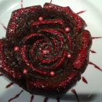 Rosa cioccolatosa