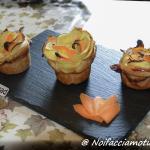 Rose di sfoglia con zucchine, carote e formaggio di latteria