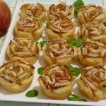Roselline di mele e profumo di cannella