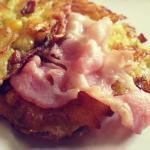 RÖsti di patate bacon e mais