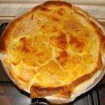 rustico patate e mozzarella