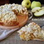 sbriciolata di mele e l'autunno che avanza