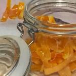 Scorzette candite alla vaniglia