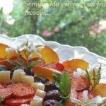 semifreddo estivo con frutta fresca ...