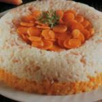 Sformato di riso alle carote