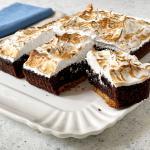 S'mores brownies per re-cake 2.0