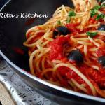 Spaghetti alla puttanesca, tripudio di sapori