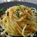 Spaghetti ca muddica ( con la mollica)