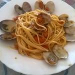 Spaghetti Con Vongole e Zucca