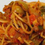 Spaghetti veloci in salsa cruda