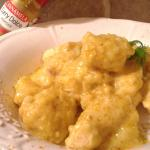 Spezzatino di pollo al curry dolce