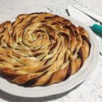 Spirale di sfoglia alla nutella