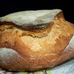 tabatiére, forma di pane francese con prefermento di yogurt greco