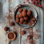 Tartufi al cioccolato fondente e mascarpone