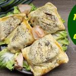 tomini in crosta, un'idea originale  per la cena