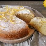 torta al limone  e mandorle (senza glutine e latte)