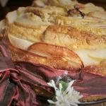 torta burro e pere