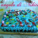 Torta caramelle gommose