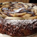 Torta cioccolato e pere ( ricetta velocissima)