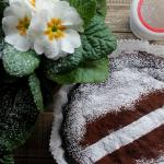 torta cioccolatosa senza farina