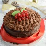 torta con namelaka al fondente