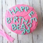 Torta di compleanno senza glutine