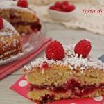torta di lamponi facilissima